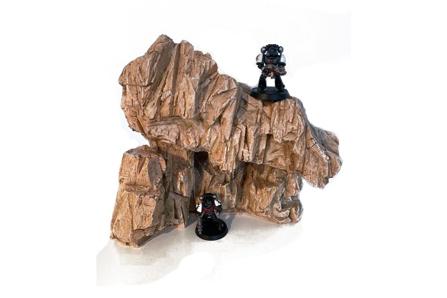 New BADLANDS ROCKS – wargaming terrain – all prepainted and ready to play