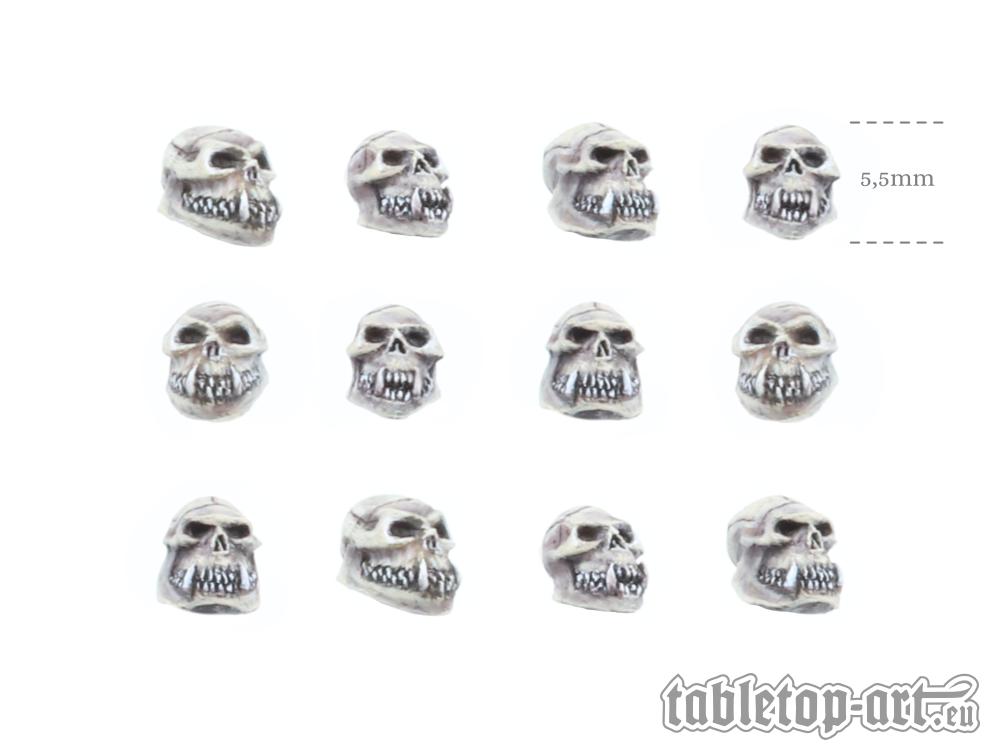 Orc Skulls - Set 1 (12)