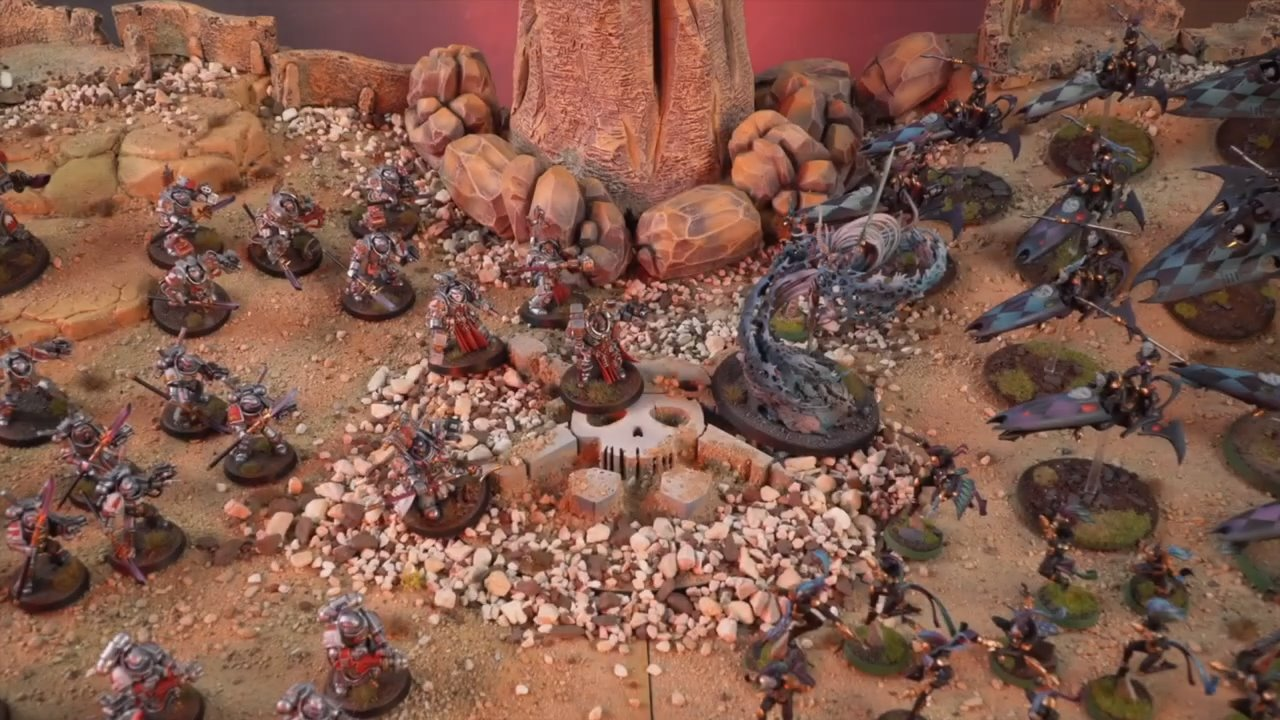 Great battle report: Grey Knights vs Harlequins by Tabletop Tactics