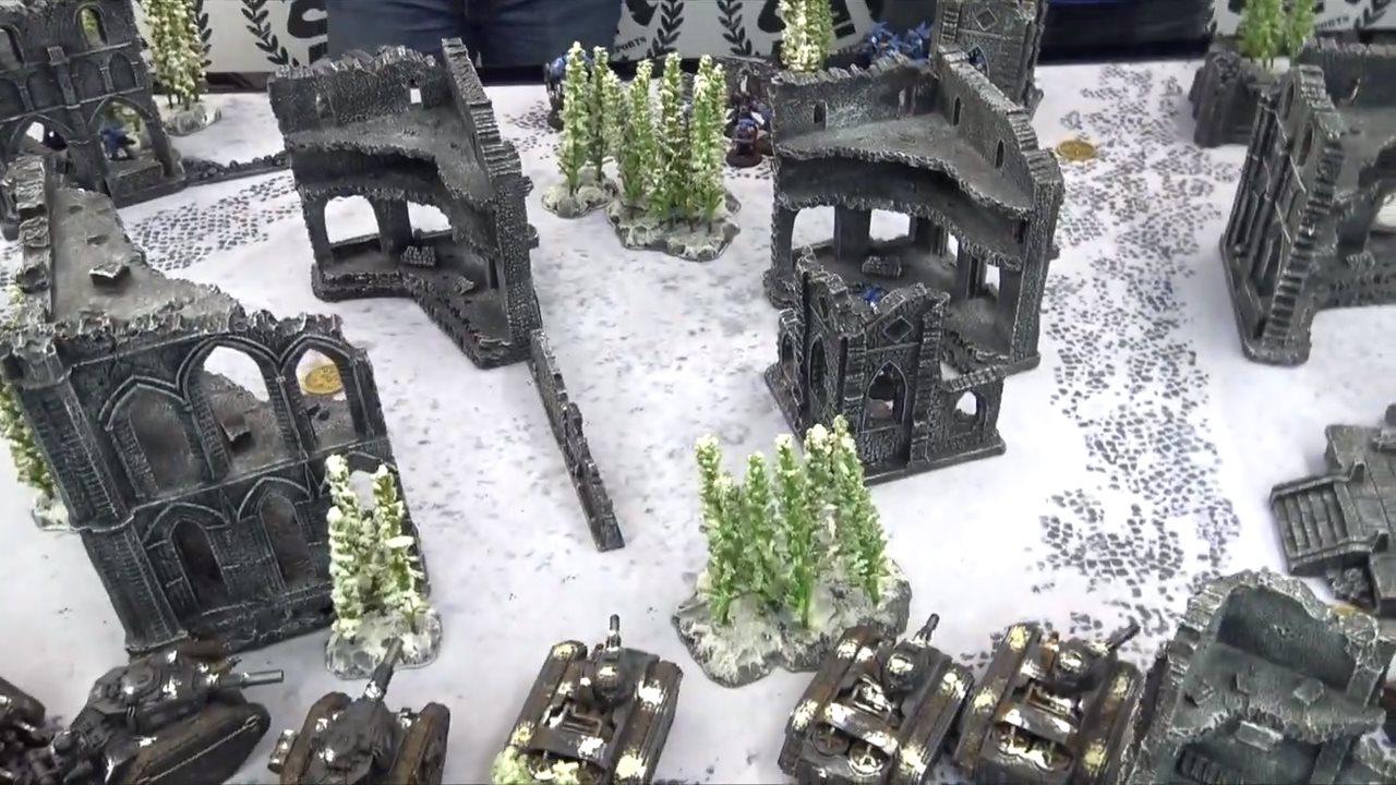 gamemat.eu, Gothic ruins set