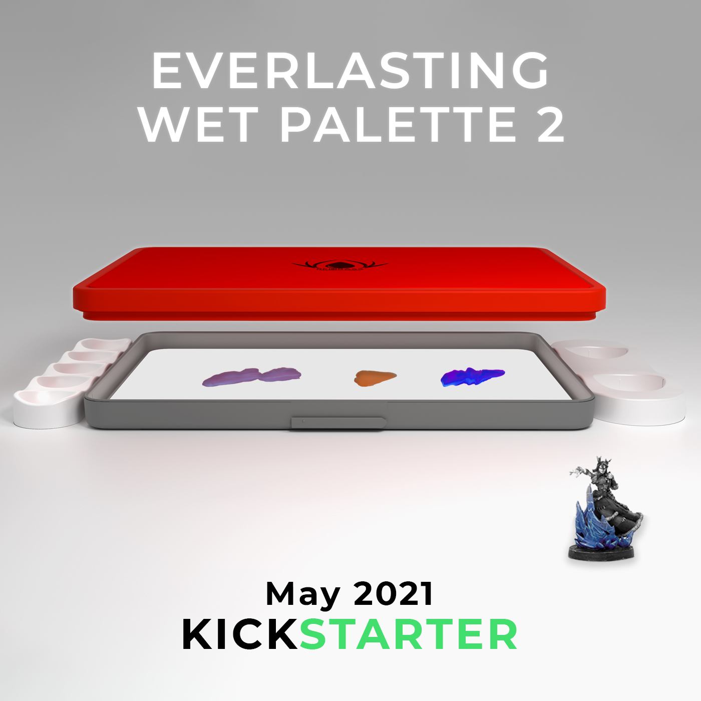 Redgrass wet palette The best painting tool for miniatures