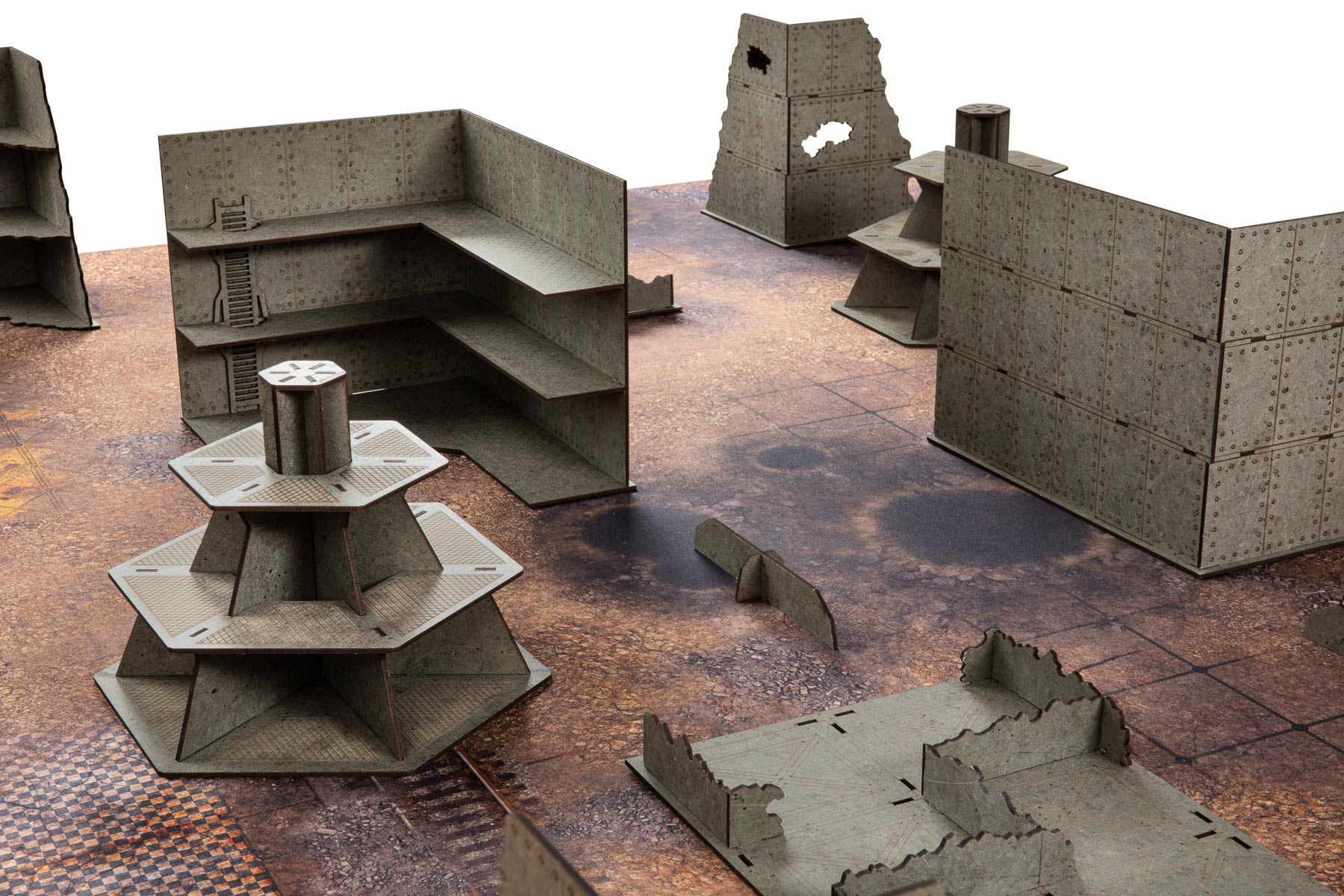 City of steel, MDF, prepainted, Warhammer 40k