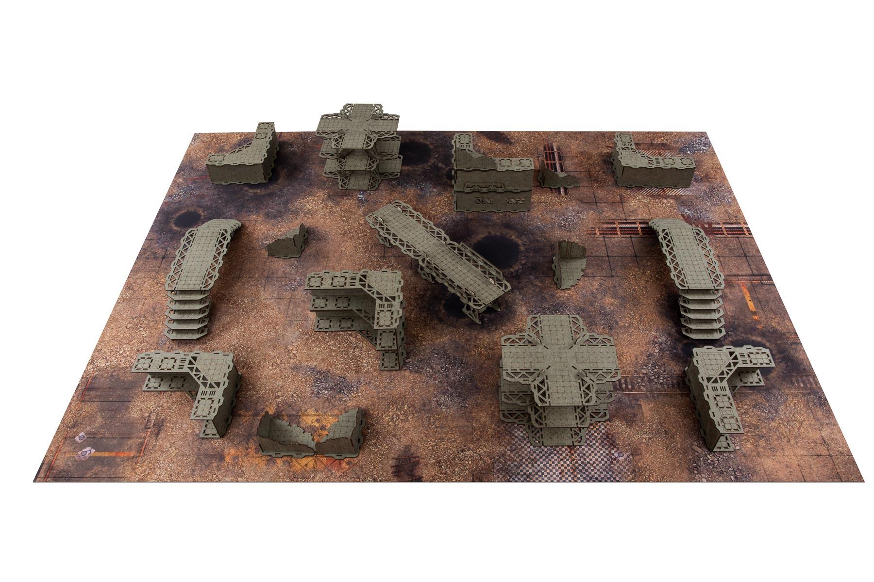 Hive city;MDF, prepainted, Warhammer 40k