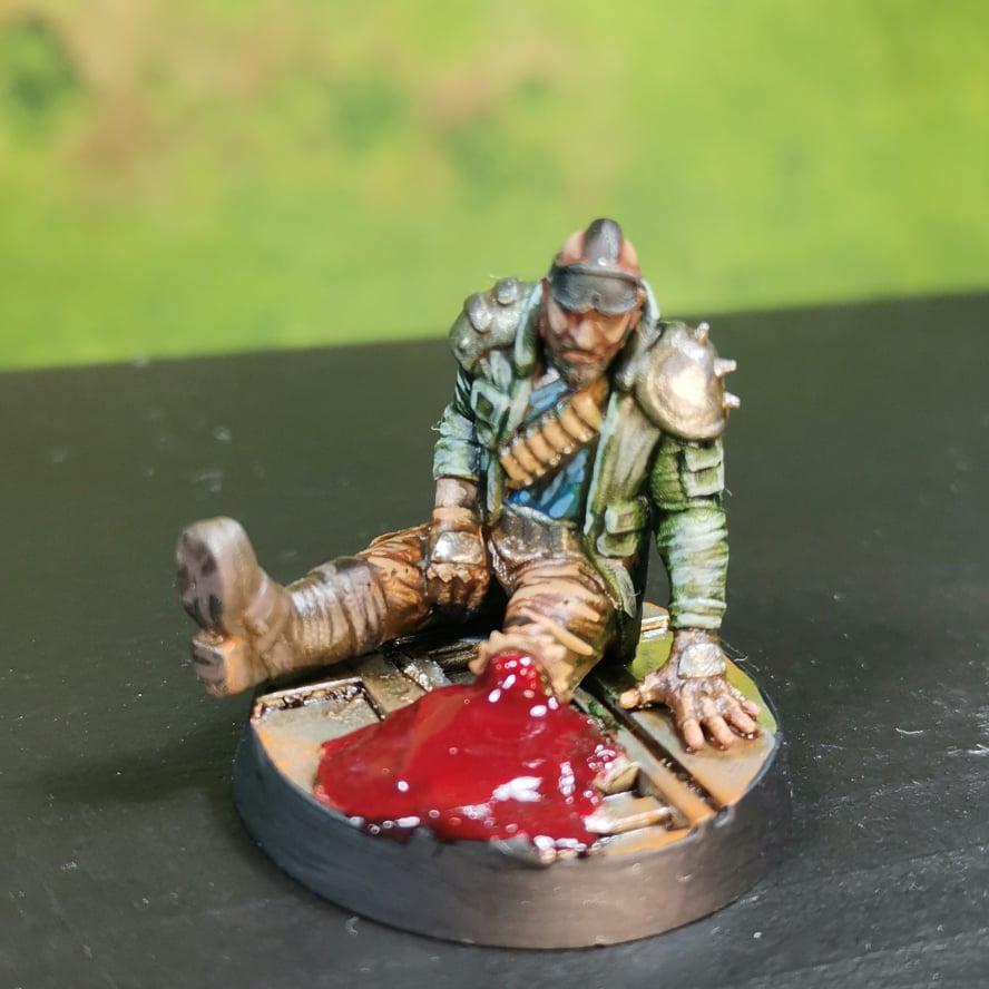 Hive scum miniature made by Gamemat.eu!