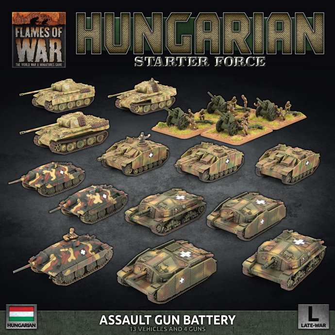 Flames Of War – Bagration: Hungarian New Releases