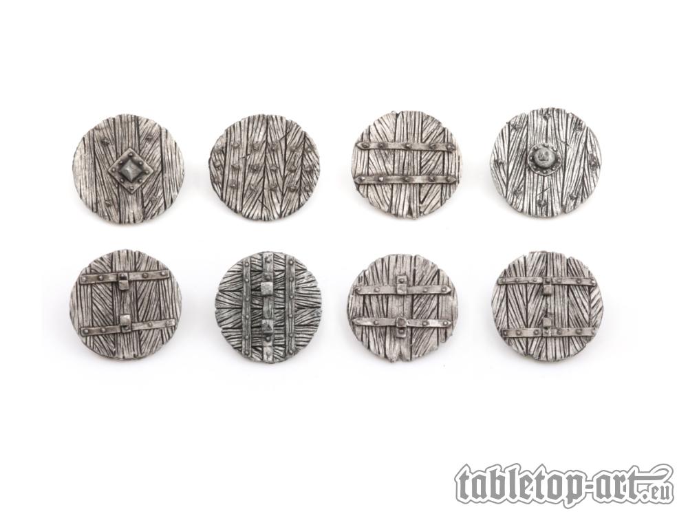 Fantasy Warrior Shields - Set 1 (8) Tabletop-Art