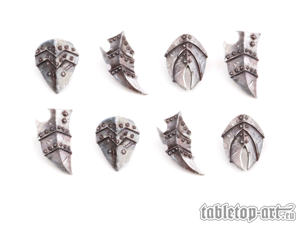 Fantasy Warrior Shields - Set 2 (8) Tabletop-Art