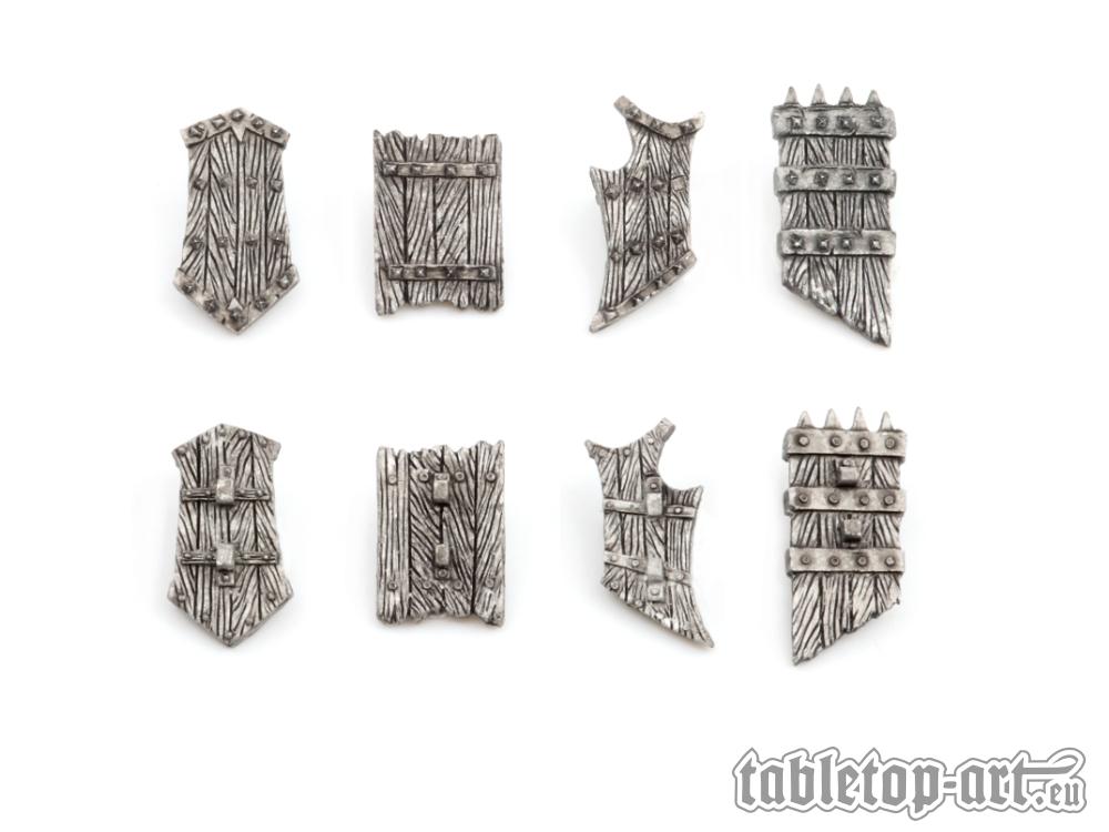 Fantasy Warrior Shields - Set 3 (8) Tabletop-Art