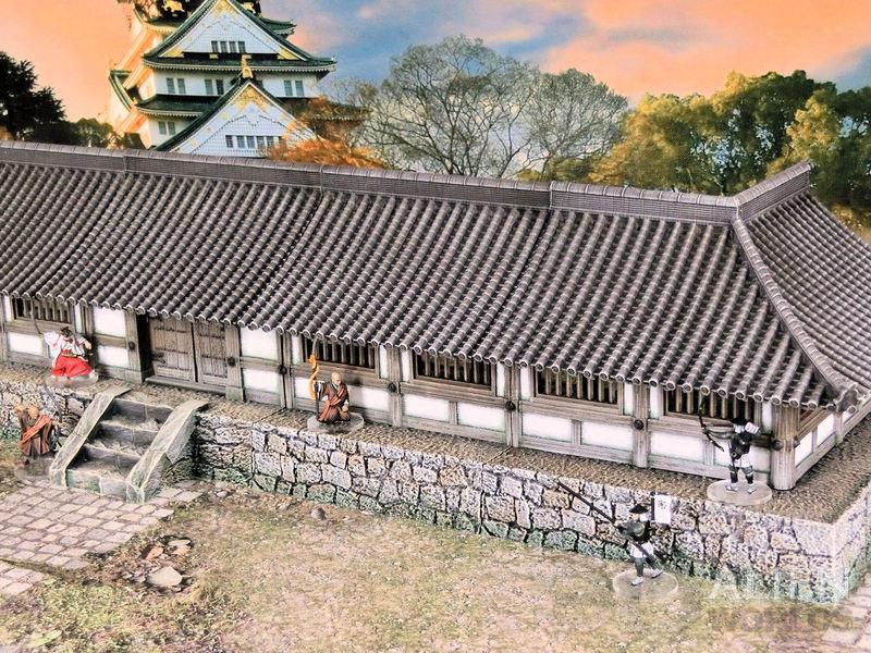 Samurai Temple Walls released