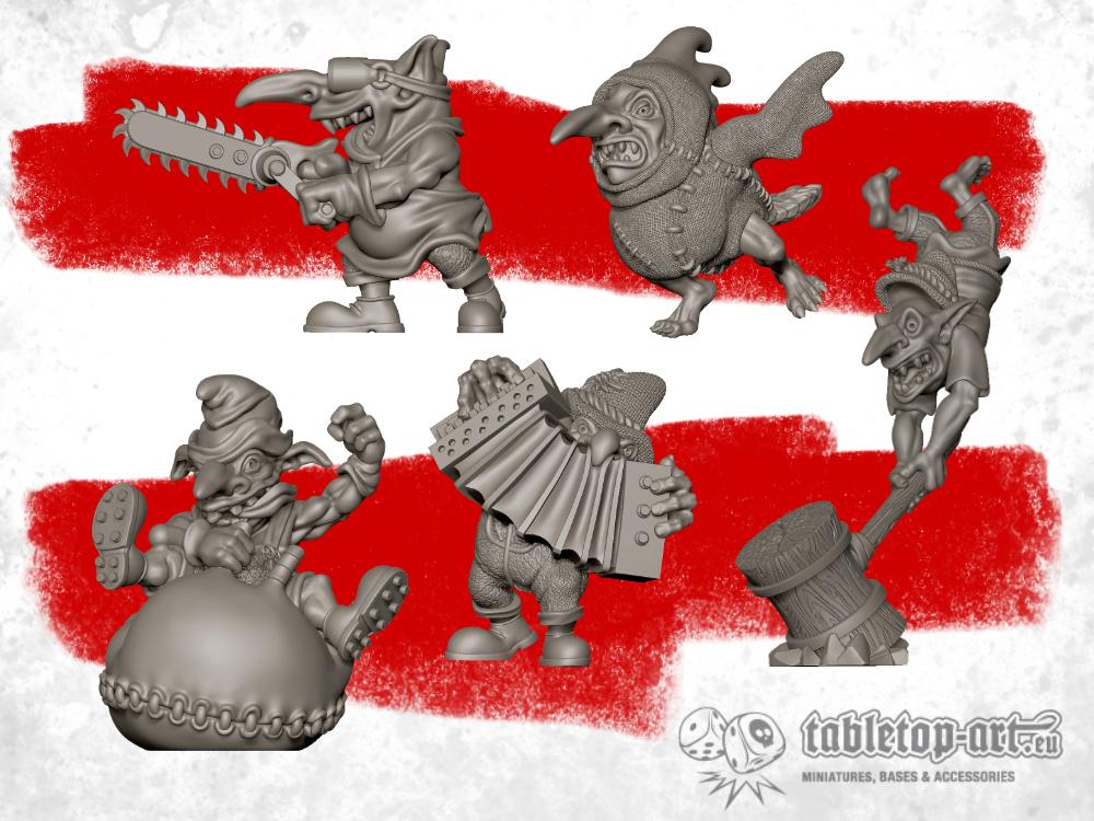 New Fantasy Football Goblins in the progress!
