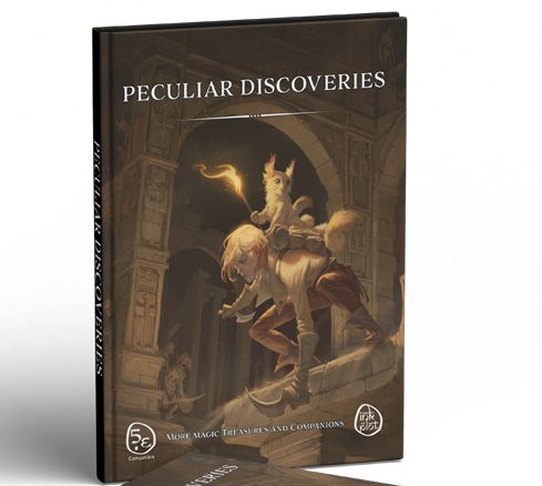 Peculiar Discoveries, mysterious items and cutest companions