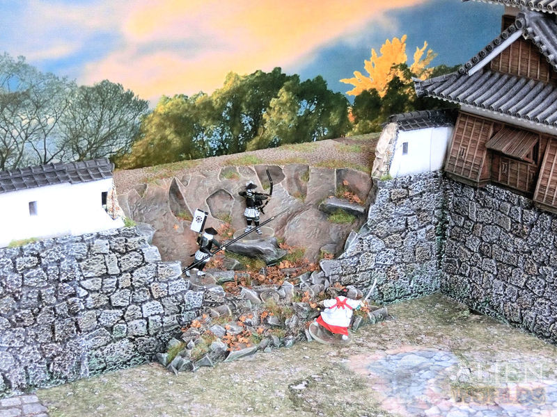 Samurai Ruined Castle Wall released