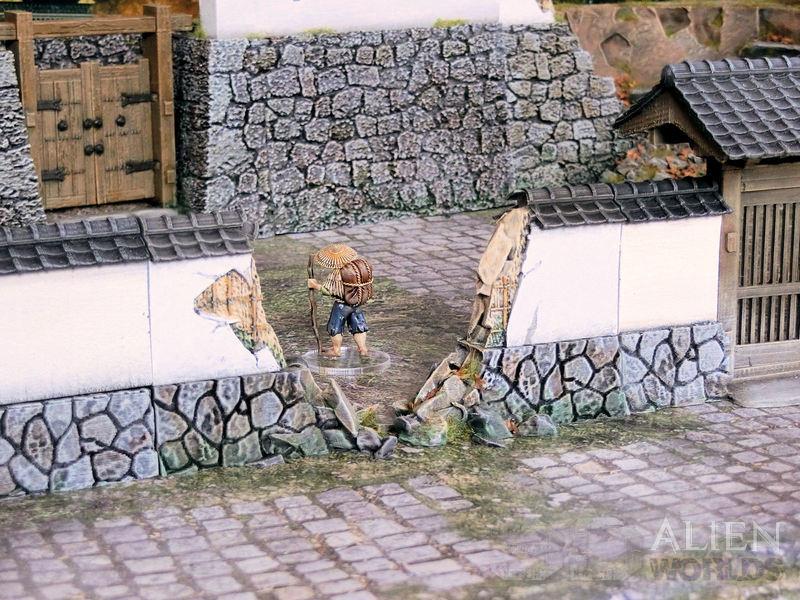 Samurai Ruined Stone Wall released