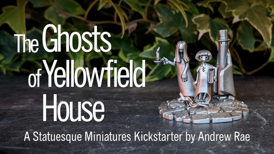 The Ghosts of Yellowfield House Kickstarter is live!