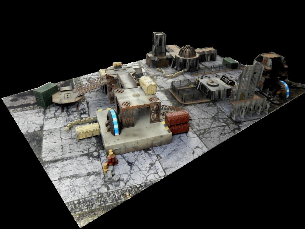 URBANMATZ – neoprene gaming mats and prepainted terrain